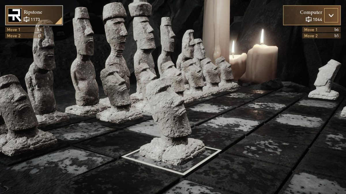 launched for the holidays Easter Island DLC, Chess Ultra. Easter Island Chess pieces